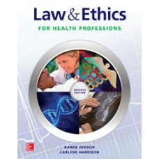 McGraw-Hill Connect Resources for Judson, Law and Ethics for Medical Careers, 7e
