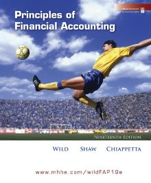 Solutions Manual to accompany Principles of Financial Accounting 19th edition 9780077303211