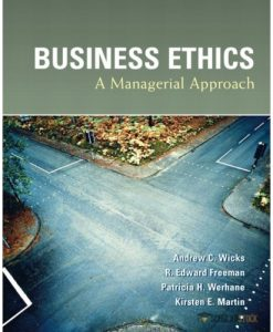 Solution Manual for Business Ethics : 013142792X