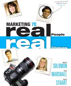 Solution Manual for Marketing: Real People, Real Choices, 7/E7th Edition