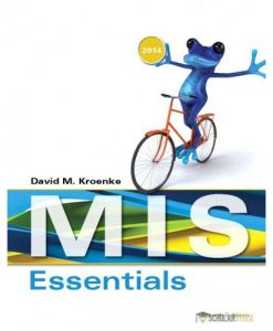 Test Bank for MIS Essentials, 4/E 4th Edition : 0133546594