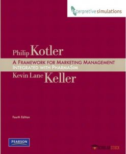 Solution Manual for Framework for Marketing Management: Integrated PharmaSim Simulation Experience, 4/E 4th Edition