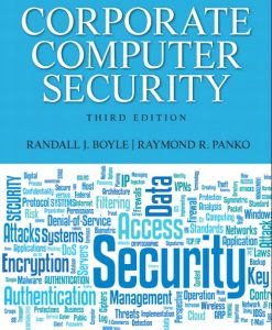 Test Bank for Corporate Computer Security, 3/E 3rd Edition Randy J Boyle, Raymond R. Panko