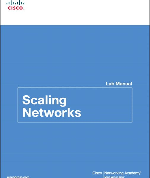 Solution Manual for Scaling Networks Lab Manual