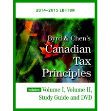 Solution Manual for Byrd & Chen's Canadian Tax Principles, 2014 – 2015 Edition, Volume I & II with Study Guide – Clarence Byrd & Ida Chen