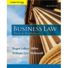 Solution Manual for Cengage Advantage Books Business Law Text and Exercises, 7th Edition