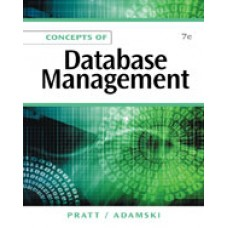Solution Manual for Concepts of Database Management, 7th Edition