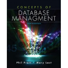 Solution Manual for Concepts of Database Management, 8th Edition