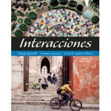 Solution Manual for Interacciones, 6th Edition