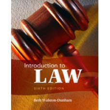 Solution Manual for Introduction to Law, 6th Edition