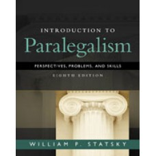 Solution Manual for Introduction to Paralegalism Perspectives, Problems and Skills, 8th Edition