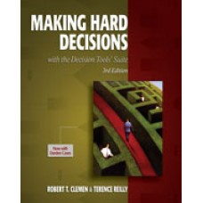 Solution Manual for Making Hard Decisions with DecisionTools, 3rd Edition