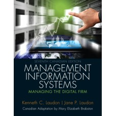 Solution Manual for Management Information Systems: Managing the Digital Firm, Seventh Canadian Edition, 7/E – Kenneth C. Laudon, Jane P. Laudon & Mary Elizabeth Brabston
