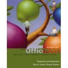 Solution Manual for Microsoft Office 2007 Introductory, 1st Edition