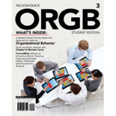 Solution Manual for ORGB 3, Student Edition, 3rd Edition