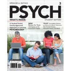 Solution Manual for PSYCH3, 3rd Edition