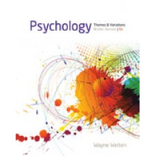 Solution Manual for Psychology Themes and Variations, Briefer Version, 9th Edition