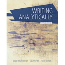 Solution Manual for Writing Analytically with Readings, 3rd Edition