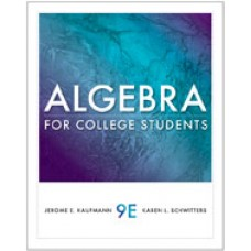 Test Bank for Algebra for College Students, 9th Edition