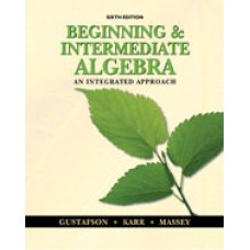 Test Bank for Beginning and Intermediate Algebra An Integrated Approach, 6th Edition