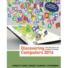Test Bank for Discovering Computers 2016, 1st Edition
