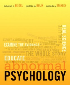 Test Bank for Abnormal Psychology, 1st Edition: Beidel