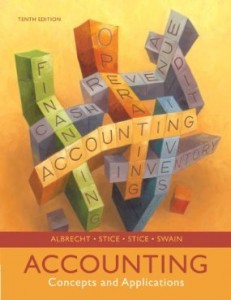 Test Bank for Accounting Concepts and Applications, 10th Edition : Albrecht Stice