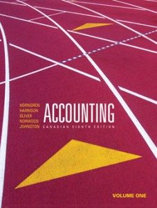 Test Bank for Accounting, 8th Canadian Edition: Horngren