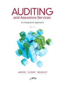 Test Bank for Auditing and Assurance Services, 14th Edition: Arens