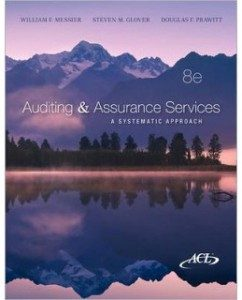 Test Bank for Auditing and Assurance Services, 8th Edition: William F. Messier