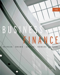 Test Bank for Business Finance, 11th Edition : Peirson