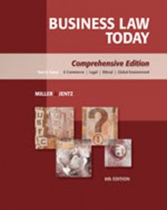 Test Bank for Business Law Today, 8th Edition: Miller