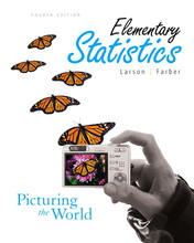 Elementary Statistics Picturing the World Larson 4th Edition Solutions Manual