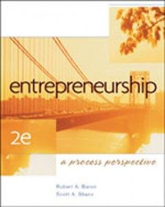 Test Bank for Entrepreneurship A Process Perspective, 2nd Edition: Baron
