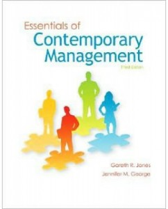 Test Bank for Essentials of Contemporary Management, 3rd Edition: Gareth R. Jones