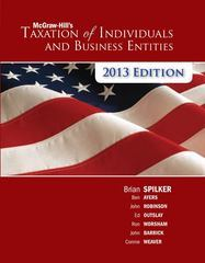 Instructor Manual For Taxation of Individuals and Business Entities, 2013 edition 4th edition by Brian Spilker, Benjamin Ayers, John Robinson, Edmund Outslay, Ronald Worsham, John Barrick, Connie Weaver