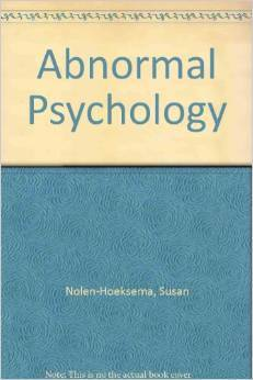 Instructor Manual for: Abnormal Psychology Paperback 5th edition by Susan Nolen-Hoeksema