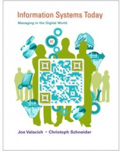 Test Bank for Information Systems Today Managing in the Digital World 6th Edition: Joseph Valacich