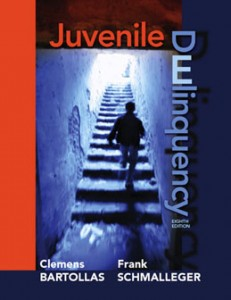Test Bank for Juvenile Delinquency, 8th Edition: Bartollas