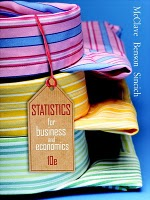 Solutions Manual to accompany Statistics for Business and Economics 10th edition 9780132409353