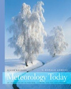 Test Bank for Meteorology Today, 9th Edition: Ahrens