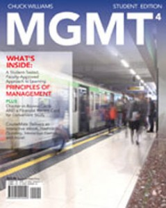 Test Bank for MGMT4, 4th Edition: Williams