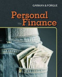 Test Bank for Personal Finance, 10th Edition: Garman