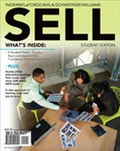 Test Bank for SELL, 1st Edition: Ingram