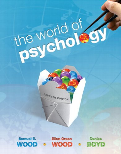 Solution Manual for The World of Psychology 7th Edition by Wood