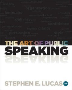 Test Bank for The Art of Public Speaking 11th Edition Stephen Lucas