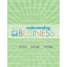 Understanding Business Nickels 9th Edition Test Bank