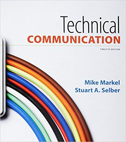 Test Bank for Technical Communication Twelfth Edition