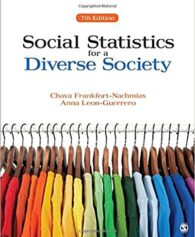 Test Bank for Social Statistics for a Diverse Society Seventh Edition