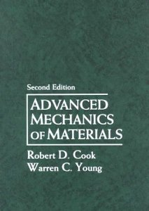 Solution manual for Advanced Mechanics of Materials Cook Young 2nd edition